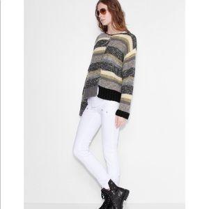 Zadig & Voltaire Jemma Striped Sweater - NWOT Sz M